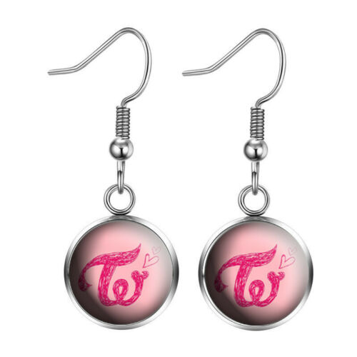 Kpop TWICE MORE /& MOR Album Chic Earrings Dangle Unisex Jewelery