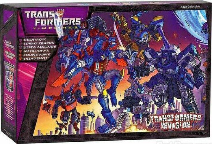 Timelines Botcon Exclusives Transformers Invasion Exclusive Action Figure Set