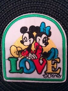 Mickey & Minnie Mouse patch / iron on Applique Patch (set ...