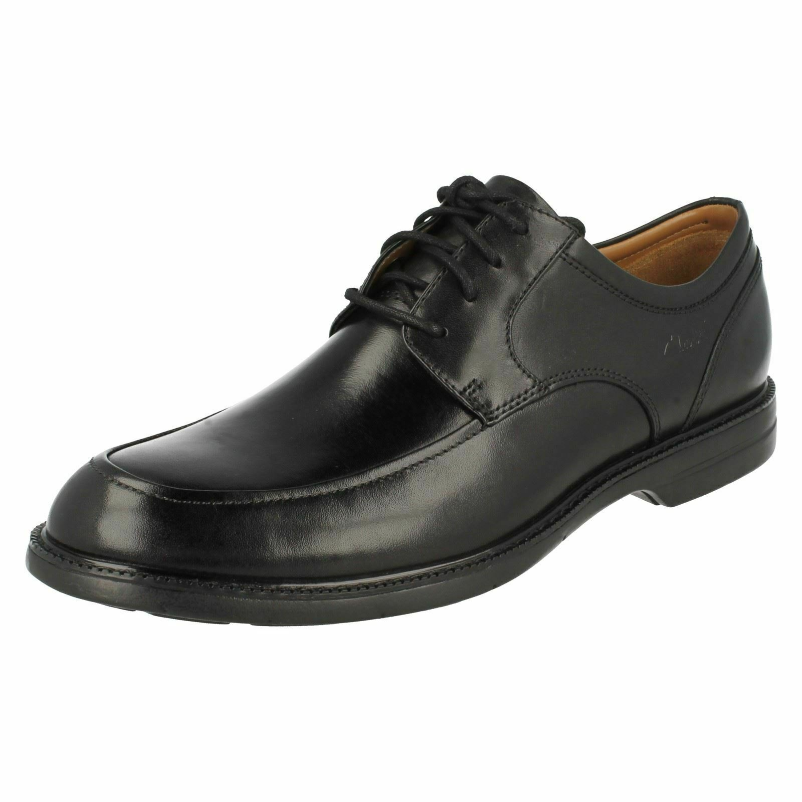 MENS CLARKS EXTRALIGHT LEATHER EVERYDAY FORMAL LACE UP SMART SHOES BILTON WALK
