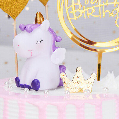 Dream Horse Cake Topper Dessert Decor Wedding Birthday Party Cupcake Decor TETS