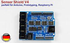 Arduino Sensor Shield V4 für Arduino UNO Mega Duemilanove Servo Motor Stepper