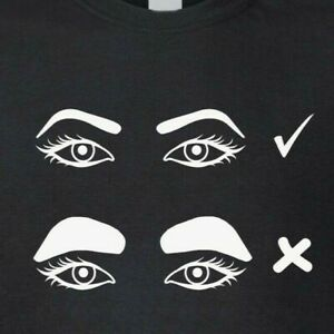 Silly-Eyebrows-T-Shirt-Funny-Rude-Gift-Present
