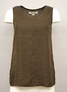 4ca0c65bcf6 Image is loading NEUTRAL-FLAX-LINEN-SLEEVELESS-TANK-TOP-PULLOVER-SHIRT-