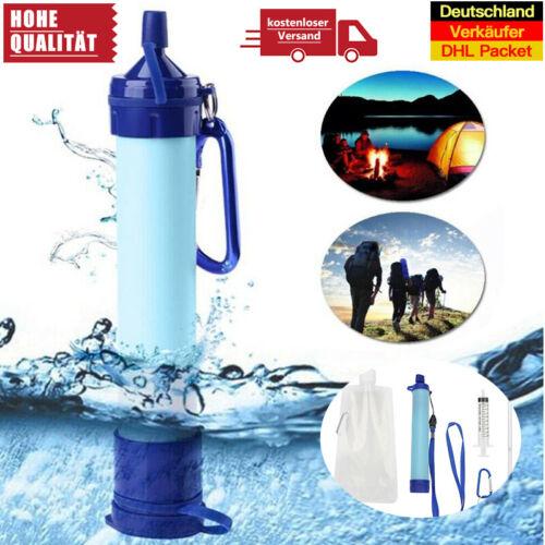 Wasserfilter Wasseraufbereitung Trinkwasser Notfall Camping Water Filter Kit