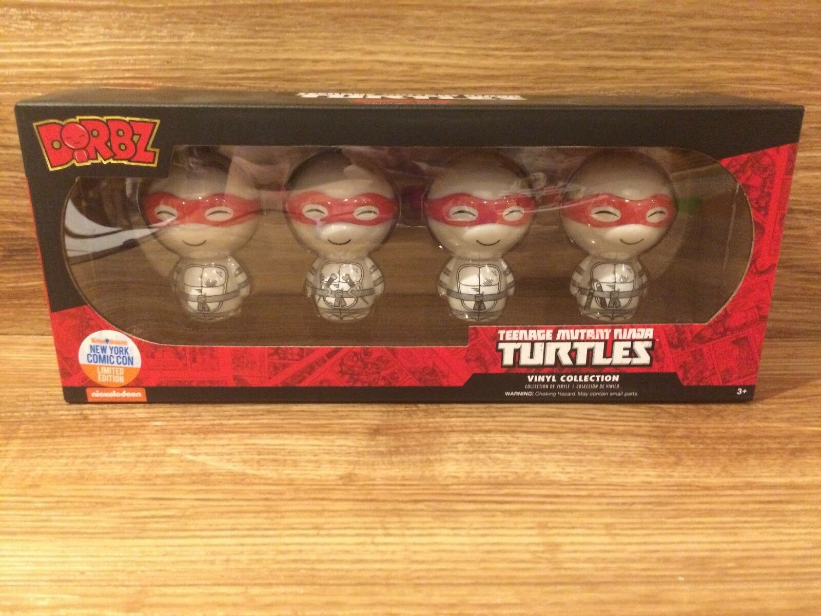 Funko dorbz teenage mutant ninja turtles nycc limited edition 4 pk