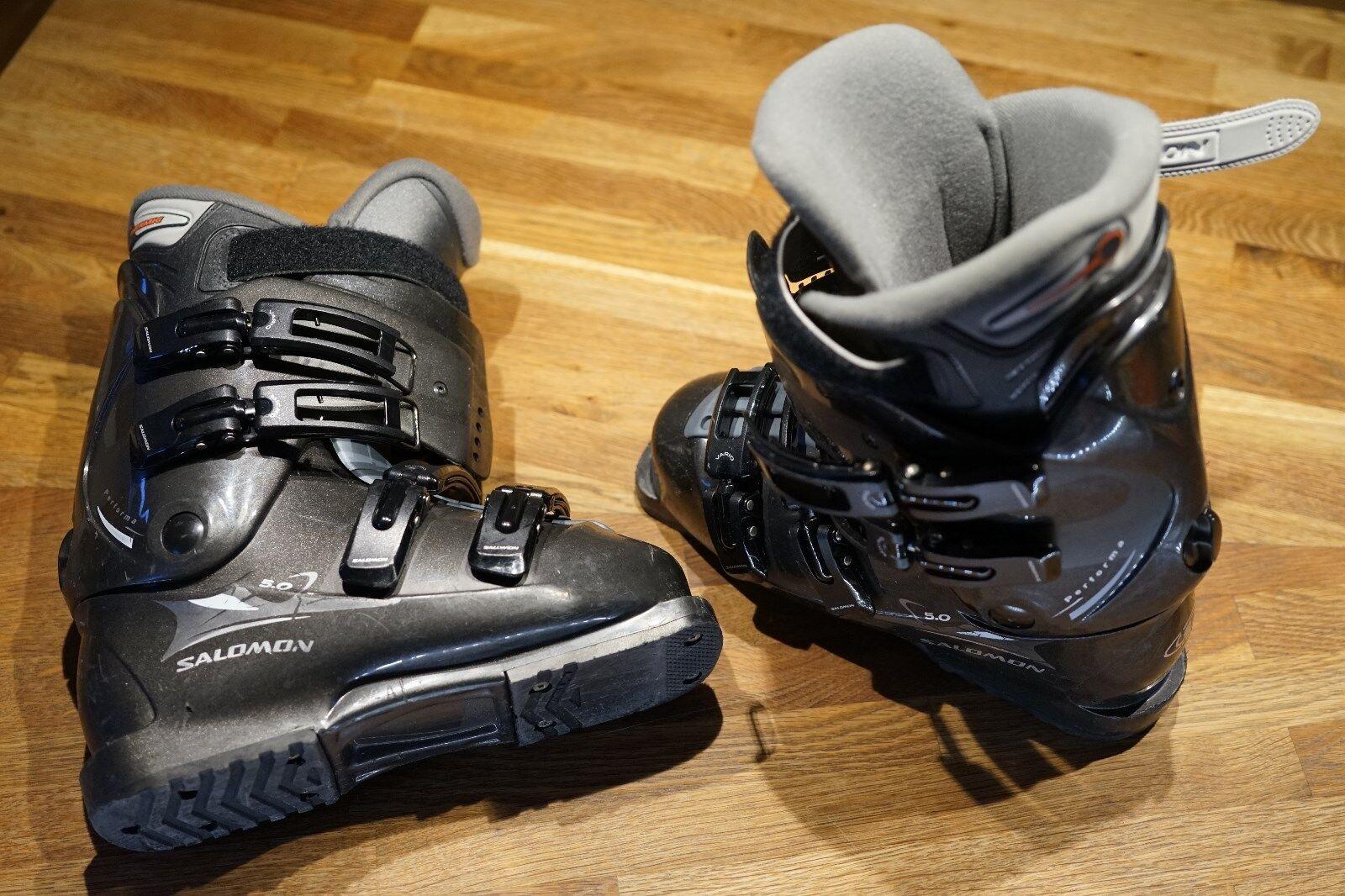 Ski-Stiefel -Schuhe SALOMON Performa 5.0 ca. 38 293mm 250 265 DX- TOP gepflegt