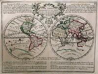 Antique map, Le Globe Terrestre