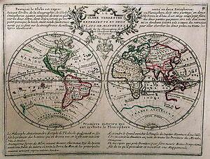 Antique-map-Le-Globe-Terrestre