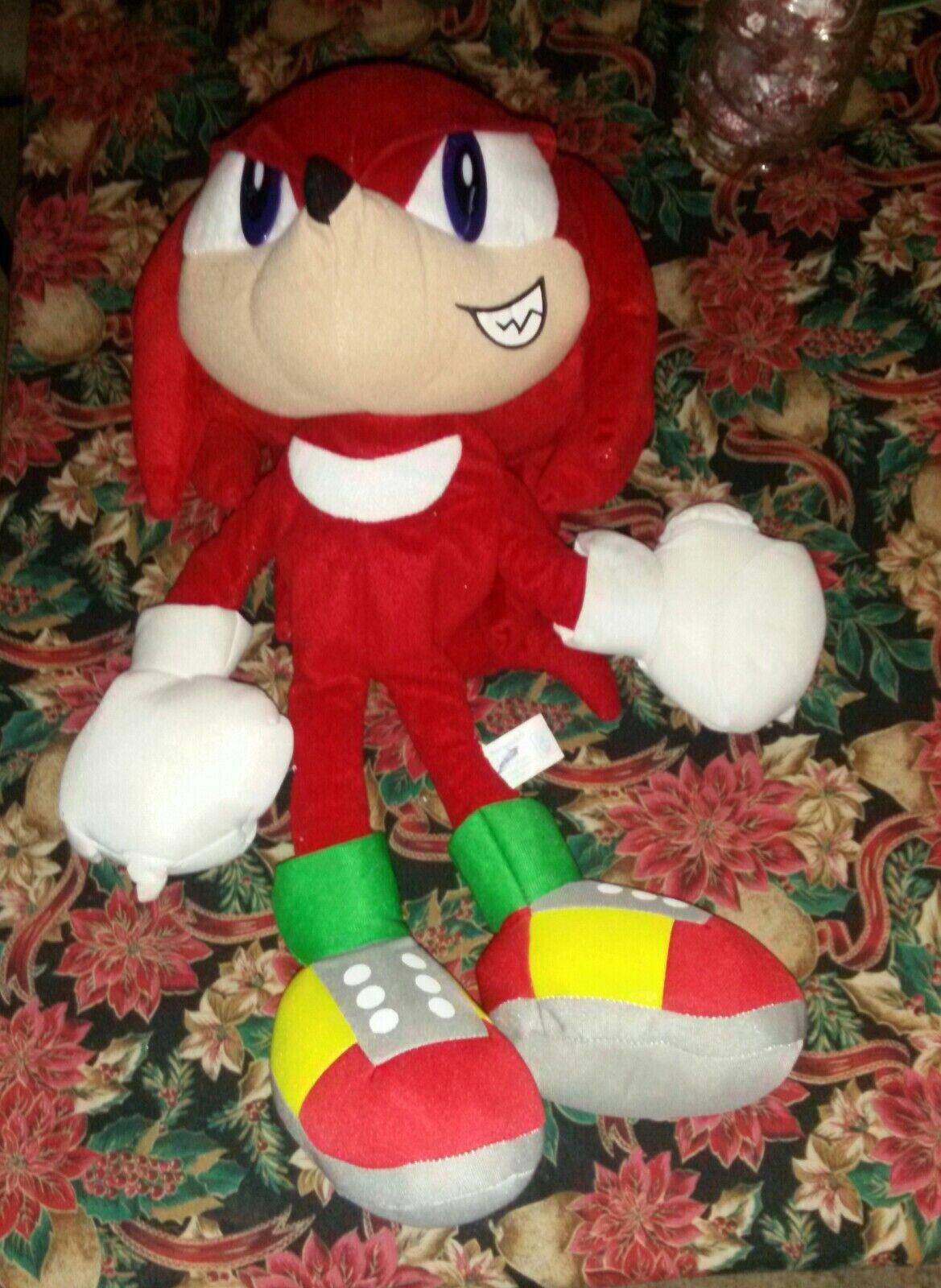SEGA Knuckles 20  Sonic Hedgehog Plush Figure Spielzeug Network