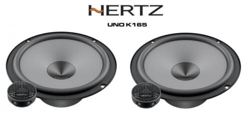 "Hertz UNO K165-6.5/"" 16.5 cm 2-Way Car Audio Componente Altavoces 300 W"