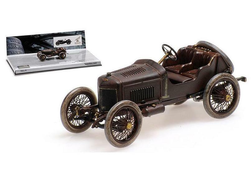 n ° 1 en línea Hispano Suiza Suiza Suiza 45cr alphonsoxiii Voiturette 1911 marrón 437110900 Minichamps 1 43  al precio mas bajo
