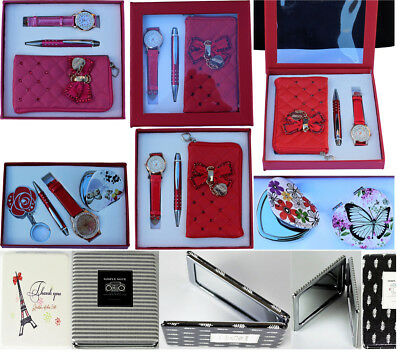Christmas Gifts & Stocking Fillers For Girls Watch & Soft Small Purse And Pen GroßE Vielfalt