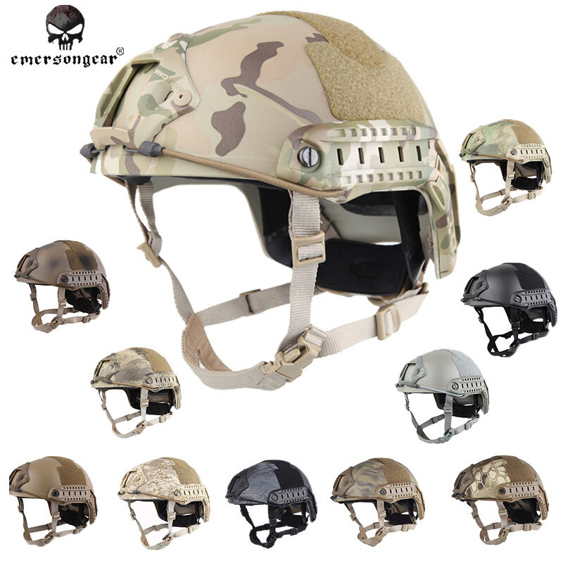 EMERSON Tacitcal FAST  Helmet Military Hunting Airsoft Headwear MultiCam BK E5658  outlet online store