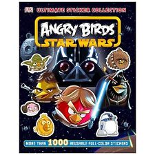 STAR WARS ANGRY BIRDS ULTIMATE STICKER COLLECTION BOOK - RRP £7.99 - BRAND NEW