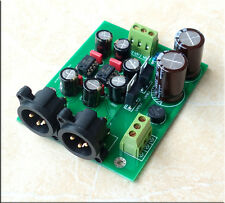 Assembled DRV134PA dual-channel single-ended balance board