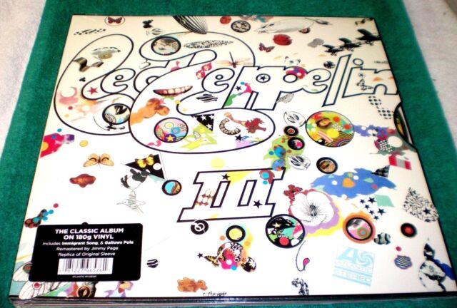 Led Zeppelin III [Remastered] by Led Zeppelin- NEW & SEALED VINYL LP