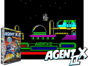 Sinclair-ZX-Spectrum-48K-Game-AGENT-X-2-Mastertronic-Tested-Classic
