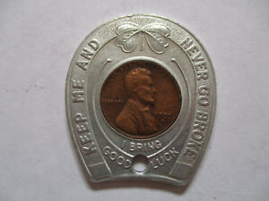 1955-Williamsburg-VA-Virginia-Good-Luck-Penny-encased-cent