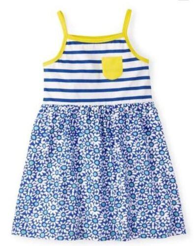 Mini Boden girls jersey summer sun dress daisy blue pink new 1-12 years baby