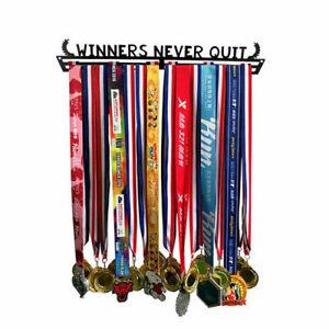 Metal Steel Medal Holder Medal Hanger Display Rack Ideal Gift for Running