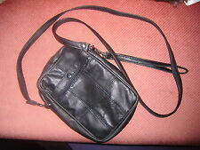 Great Leather Unisex Bag Lorenz Accessories with mobile phone pocket & 2 straps