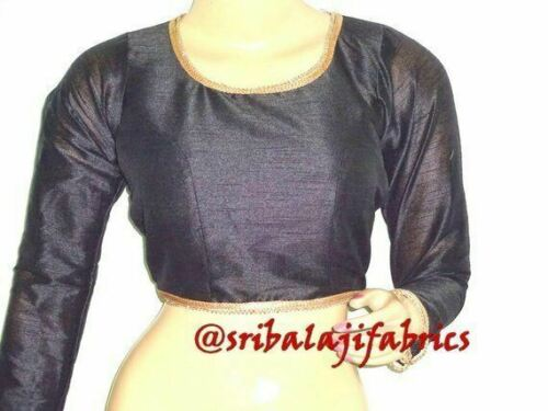 Readymade Saree Blouse,Designer Sari Blouses,Party Wear Dupion Silk Blouse,Choli