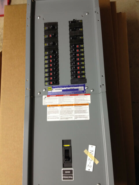 Square D Nq Panelboard 2p 100a 120 240v 1ph 3 Wire New Circuit Breakers For Sale Online