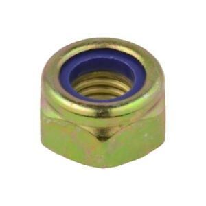 Metric Nylon Insert Lock Nuts Zinc Plated Class 8 Steel M8-1.25 QTY 250
