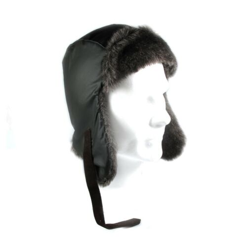 Uomo inverno Colbacco Cappello BELSTAFF verde Kaki Taglia M eco pelliccia 0179