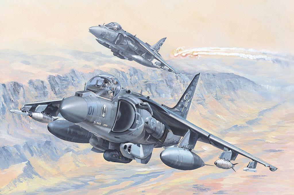Hobbyboss Hobbyboss Hobbyboss 1 18 81804 AV-8B Harrier II Plastic Model Aircraft Kit 01e092