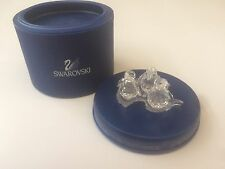 SWAROVSKI Crystal Penguin Babies (SET OF 3) + Ice -209588 Boxed With Certificate