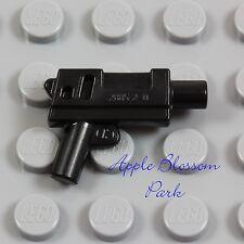 NEW Lego Minifig Black SUBMACHINE GUN - Short Machine Gun Police Gangster Weapon