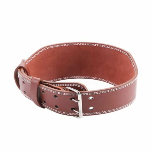 Cinturon para levantar pesas Gym,Leather belt for weight lifting Back support gy
