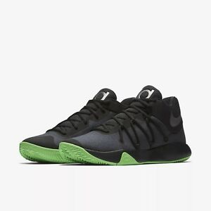 897638-003 Nike KD Trey V Basketball Shoes Black/Rage Green-Black Sizes 8-12 NIB