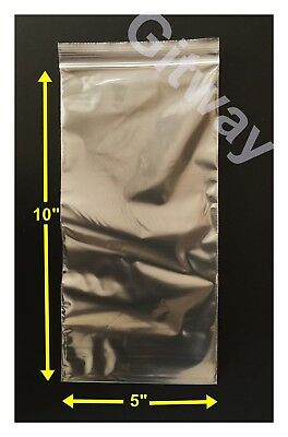 """8/"""" x 12/"""" Small Reclosable Resealable Clear Ziplock Plastic Bags 2 Mil 2000 Count"""