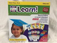 Your My Baby Can Learn / Read Set Volume 1-4 Dvd, Books More Cards Brand