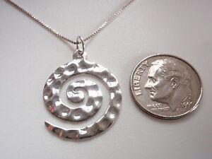 Hammered-Spiral-925-Sterling-Silver-Necklace