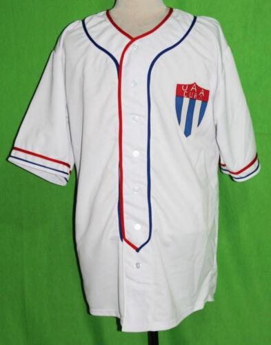 5XL ANY # XS CUBA UAA 1952 Home BASEBALL JERSEY ANY NAME
