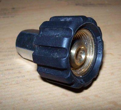 Hochdruck  Kupplung 3 //8 Innengewinde mal M22 Überwurf mit Innengewinde