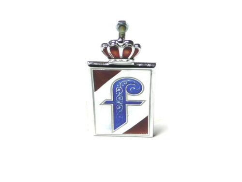 Fregio stemma PININFARINA CORONA ATTACCATA verniciato badge emblem logo escudo