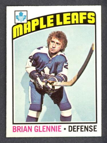 1976-77-OPC-O-PEE-CHEE-99-BRIAN-GLENNIE-NM-TORONTO-MAPLE-LEAFS-HOCKEY-CARD