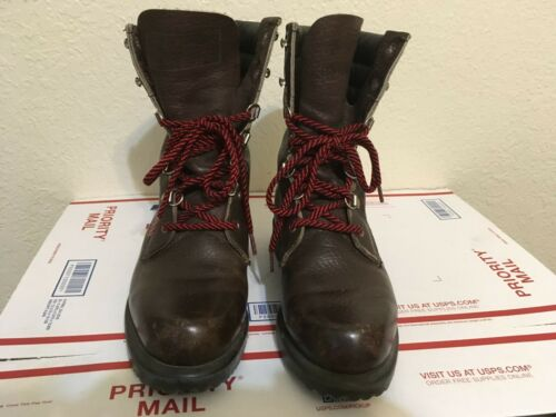 RED WING BROWN USA IRISH SETTER SPORT VINTAGE TRAI