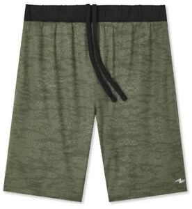 Men-039-s-ATHLETIC-WORKS-Camo-Knit-Shorts-With-Pockets-Size-2XL-NEW-NWT