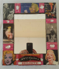 """Mirror 12x14"""" Marilyn Monroe Art Collage Andy Warhol and Other Iconic Images"""