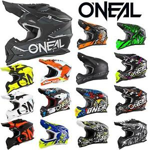 ONEAL-Bambini-Moto-Casco-Cross-MX-Kids-CROSS-gioventu-Youth-ENDURO-ragazze-giovani
