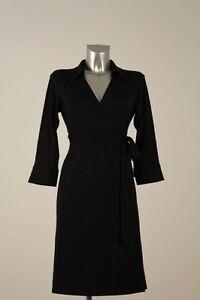 In Black Wrap Black Von Dress Dress Fürstenberg Dress Wrap Ladies 7Zwg4qW