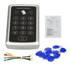 125Khz RFID Door Reader Card Keypad Mini Proximity ID Access Controller + 10 Tag