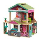 KidKraft Pacific Bungalow Dollhouse with 14 Accessories