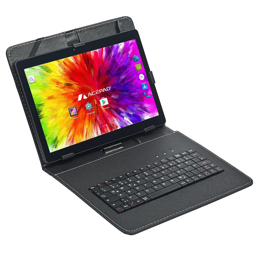 Schwarz mit Tastaturtasche